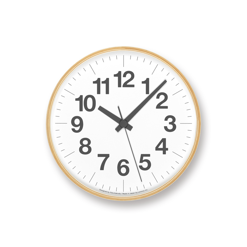 Numbers Clock PLY